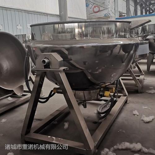鸡背导热油夹层锅