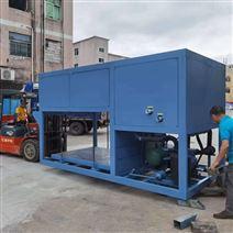 日產3噸直冷式塊冰機應用于水產龍蝦