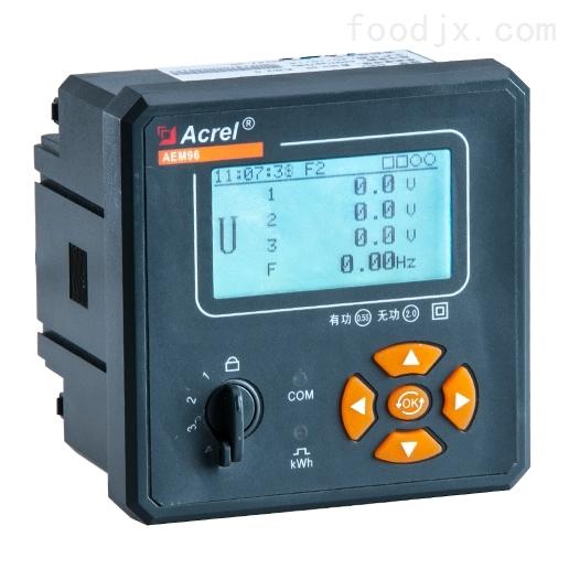嵌入式安装电能计量表AEM96