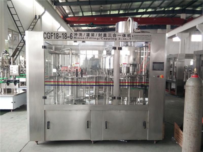 cgf-全自动瓶装水灌装生产线
