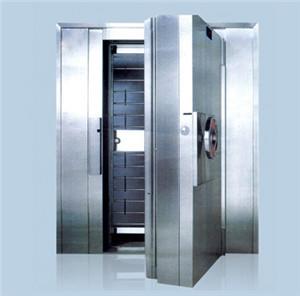 碳鋼金庫門就是用碳鋼做的金庫門。