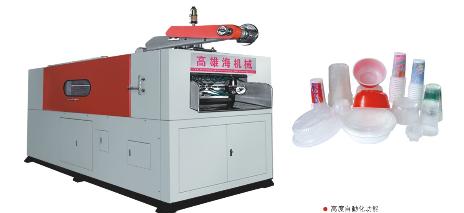 塑料片材气压热成型机图片
