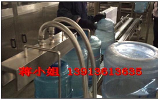 五加仑三加仑桶装水生产线解决方案