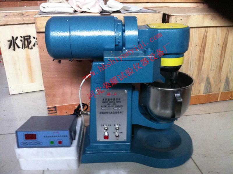 水泥胶砂搅拌机操作方法操作分手动和自动两种: 1,  自动:将旋钮开关